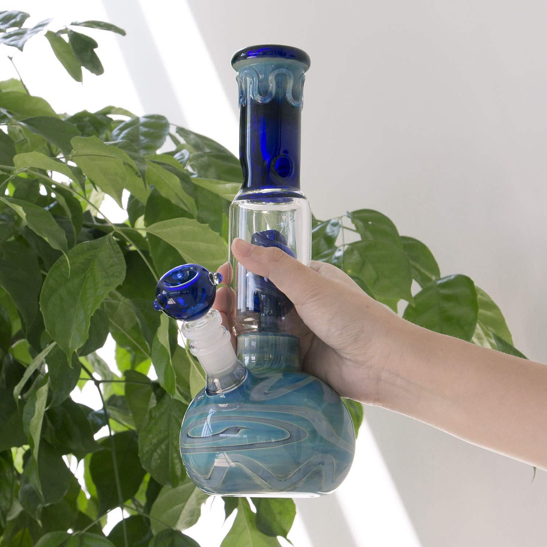 LFMTech Home Decorative Bottle Glass Vase Hand Crafted and Designed Elegant Pattern Art
