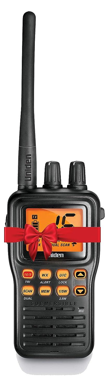 Uniden VHF Waterproof Two-Way Marine Radio (MHS75)