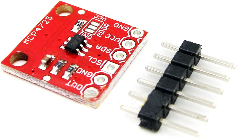 2PCS MCP4725 I2C DAC Breakout Board module 12-Bit DAC w//I2C Interface GOOD