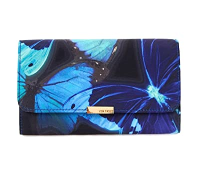 14c0e421d692 Ted Baker Lassie Butterfly Collective Evening Bag (Black Blue ...