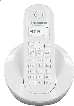 Telefunken - Teléfono Inalámbrico Tb 201 Peps Dect (importado): Amazon.es: Electrónica