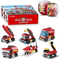 Nainiuao 222Pcs Fire Rescue Vehicles Building Blocks Set Deals