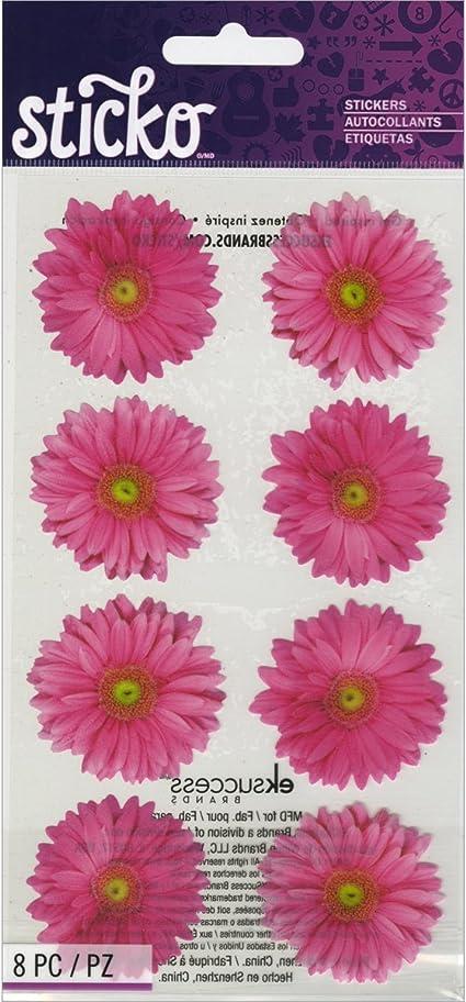 Sheet of Floral Stickers/' Mrs Grossman FLOWERS BY THE DOZEN