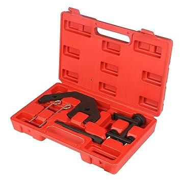 MRCARTOOL Kit de Herramientas de Bloqueo de Tiempo del Motor para BMW M47 M57 / Landrover MG Rover Diesel Engine Correct Timing Locking Tools Kit: ...