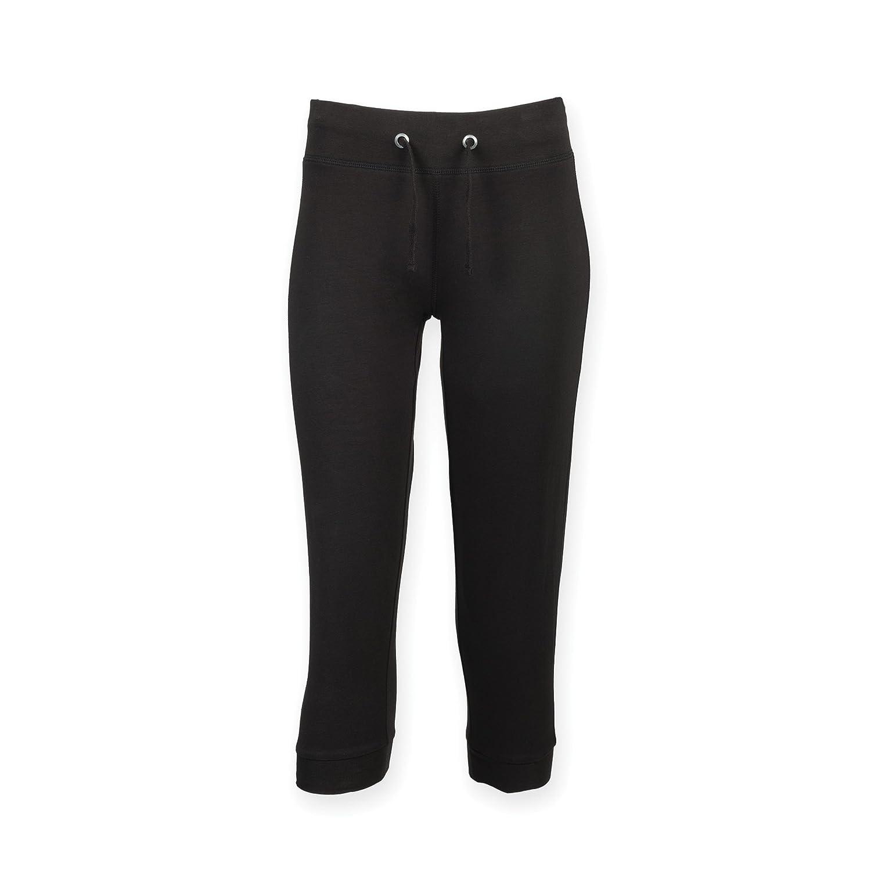 entrenamiento pantalón ¾ de las mujeres