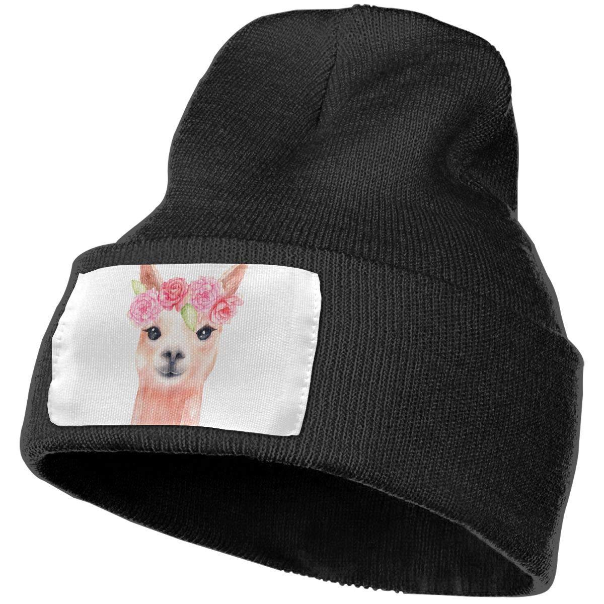 QZqDQ Llamacorn Unisex Fashion Knitted Hat Luxury Hip-Hop Cap