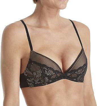 26e4fbef7edd8 Calvin Klein Underwear Women s Linger Plunge Push up Bra at Amazon ...