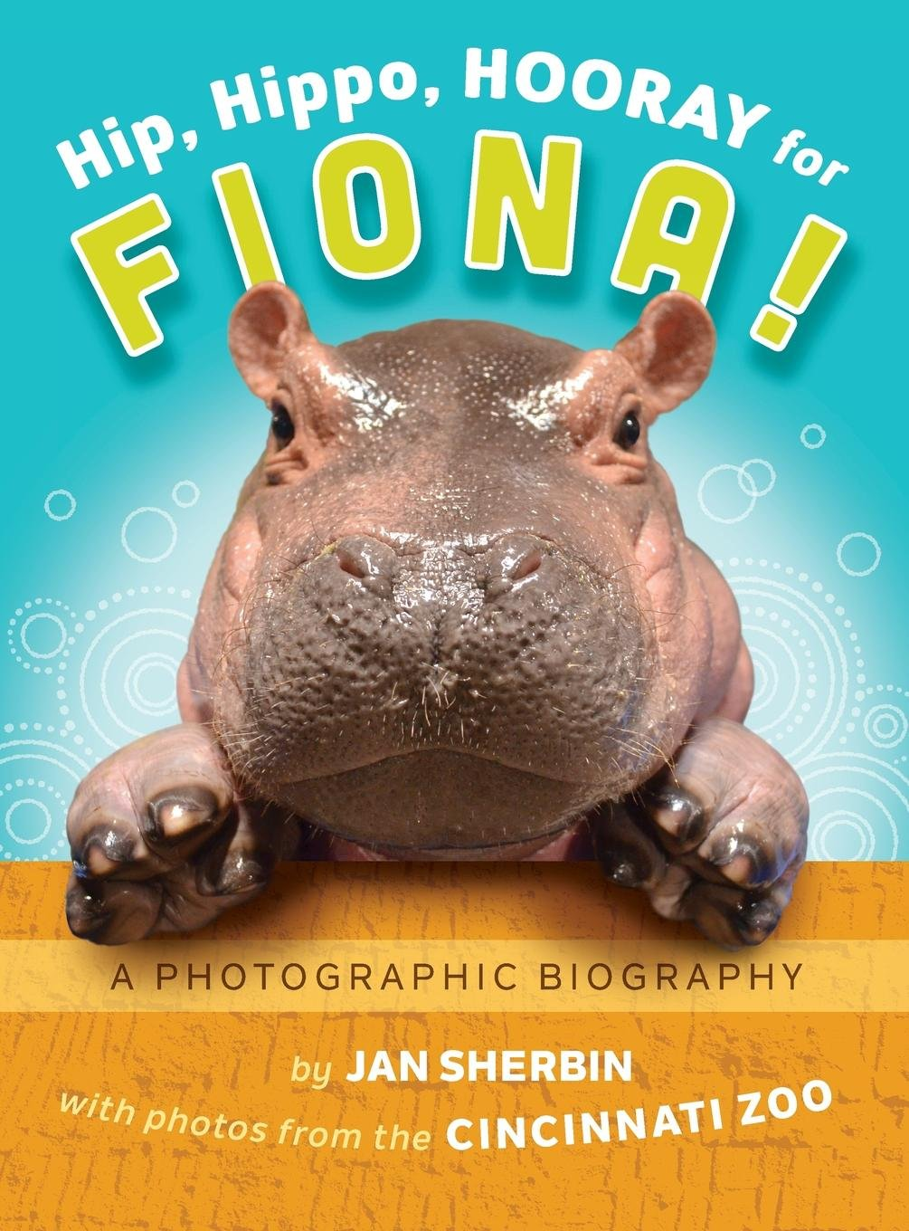 Hip, Hippo, Hooray for Fiona!: A Photographic Biography by Insights Productions (Image #1)