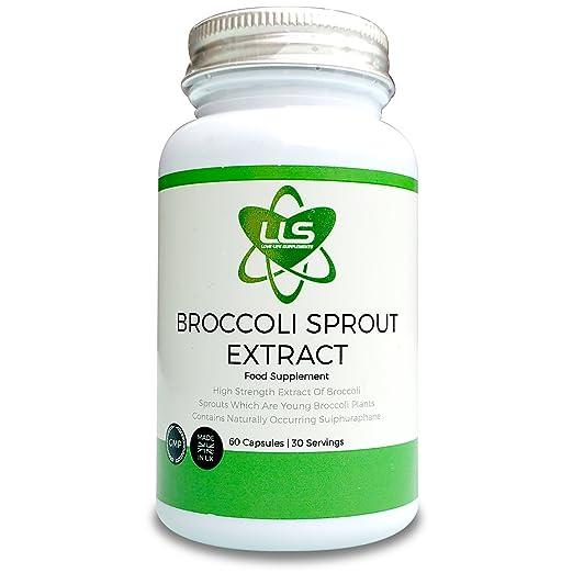 4 opinioni per LLS Broccoli Sprout | 60 Capsule | 15,000mg per 2 Capsule Dose | Elevato