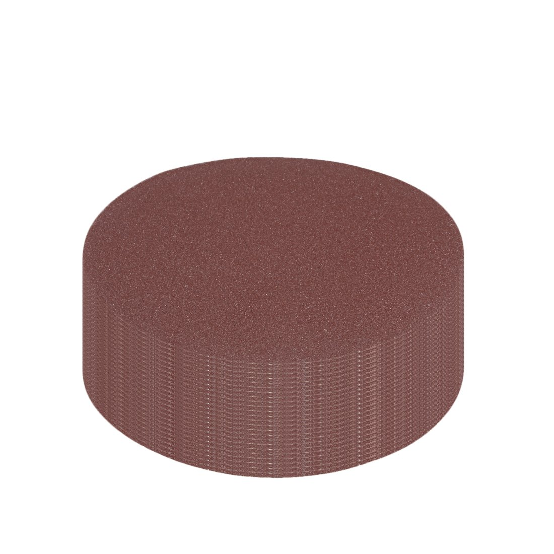 uxcell/® 10Pcs 4 inch Hook and Loop Sanding Disc 3000 Grits Flocking Sandpaper for Random Orbit Sander Gray