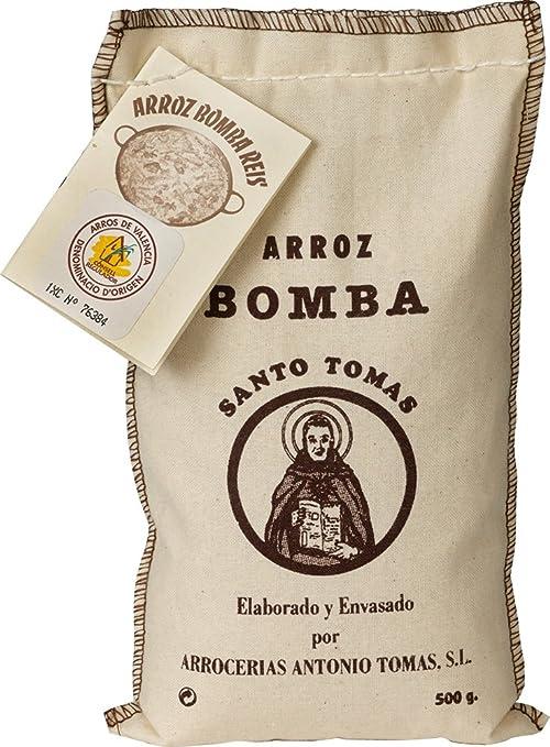 """2 opinioni per 1/2Kg """"Bomba"""" Paella Rice (D.O Arroz de Valencia)"""