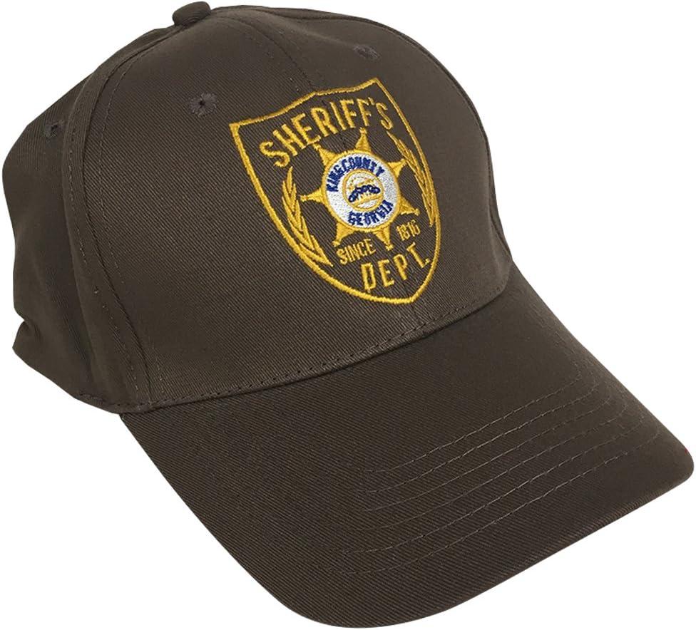 MyPartyShirt Gorra de béisbol de Sheriff de Rick Grimes: Amazon.es ...