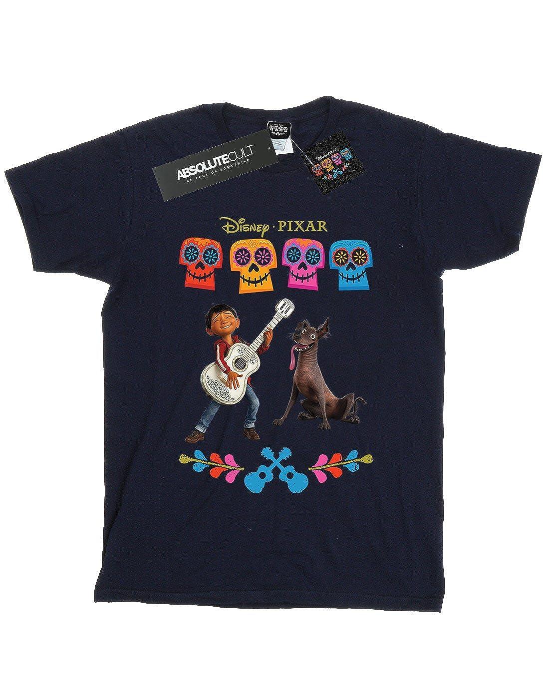 Disney Mujer Coco Miguel Logo Camiseta del Novio Fit