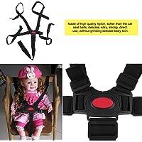 Cintura di sicurezza per seggiolone cintura di sicurezza per bebè universale da 5 punti Cintura di sicurezza per fasciatura da tavolo per sedia da pranzo di alta qualità