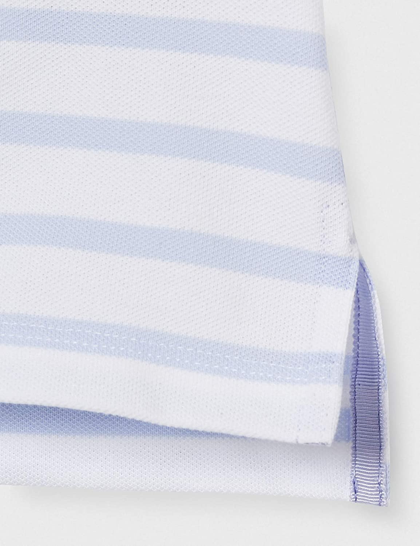 Tommy Hilfiger Damen Short Sleeve Slim Polo Stripe Poloshirt