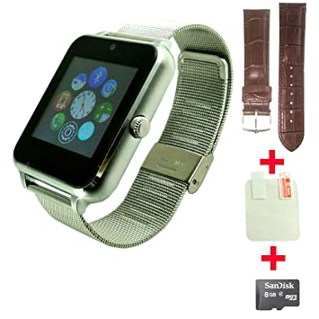 OCTelect Z60 Metal Smart Watch con cinturino in Metallo ...