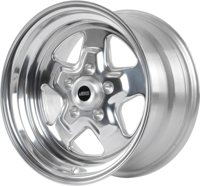 "JEGS Performance Products 66085 Sport Star 5-Spoke Wheel 15 x 10/"""