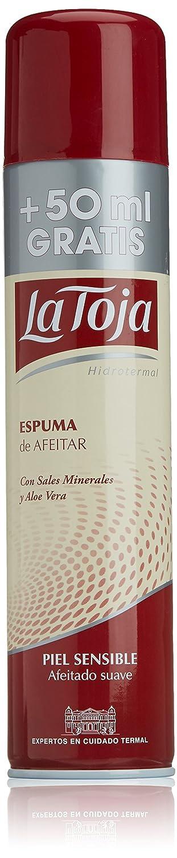 LA TOJA ESPUMA AFEITAR PIEL SENSIBLE SPRAY 250+50 ml L' occitane 8410020818981