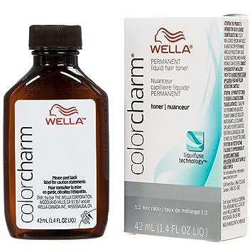 Amazon Wella Color Charm Permanent Liquid Hair Toner T28
