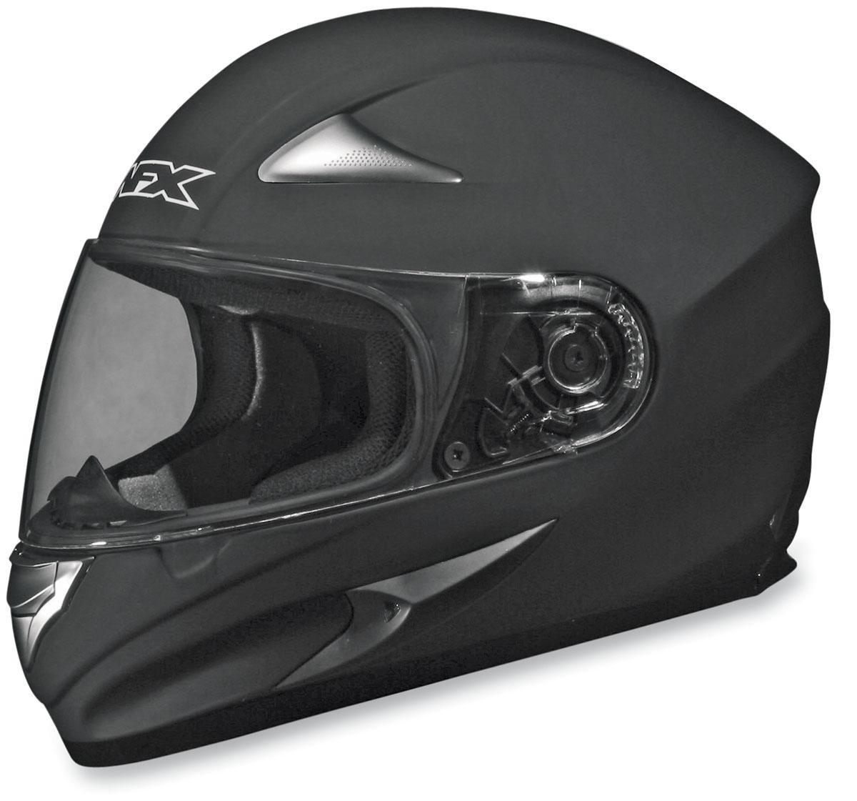 Gender: Mens//Unisex Size: Md Helmet Category: Street 0101-3345 Primary Color: Black AFX FX-90 Solid Helmet Helmet Type: Full-face Helmets Distinct Name: Flat Black