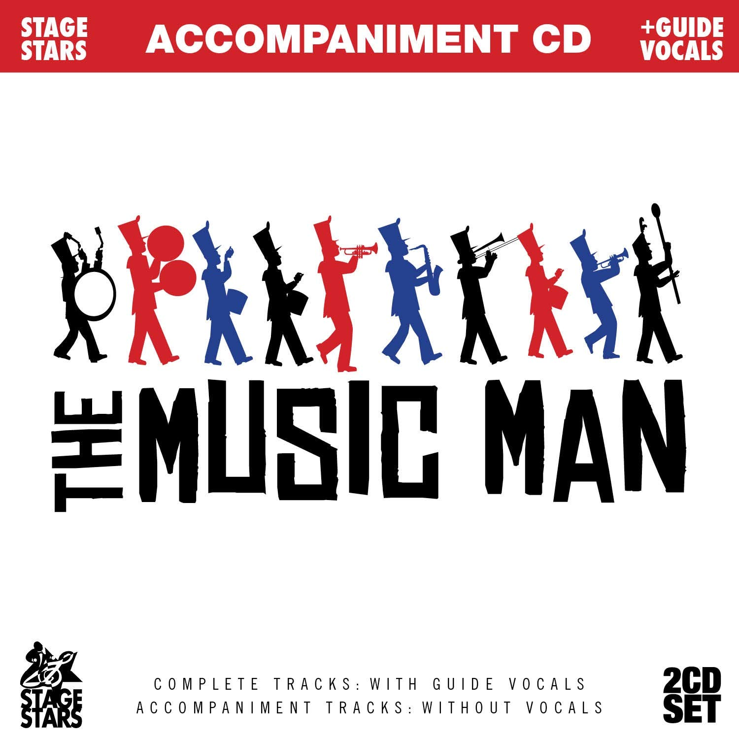 Songs from The Music Man (Accompaniment/Karaoke 2-CD Set)