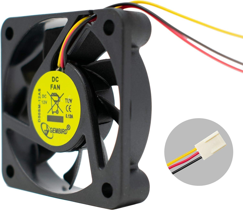 Gembird PC Silent Case Fan Sleeve Bearing 50mm 5cm Quiet Computer Fan