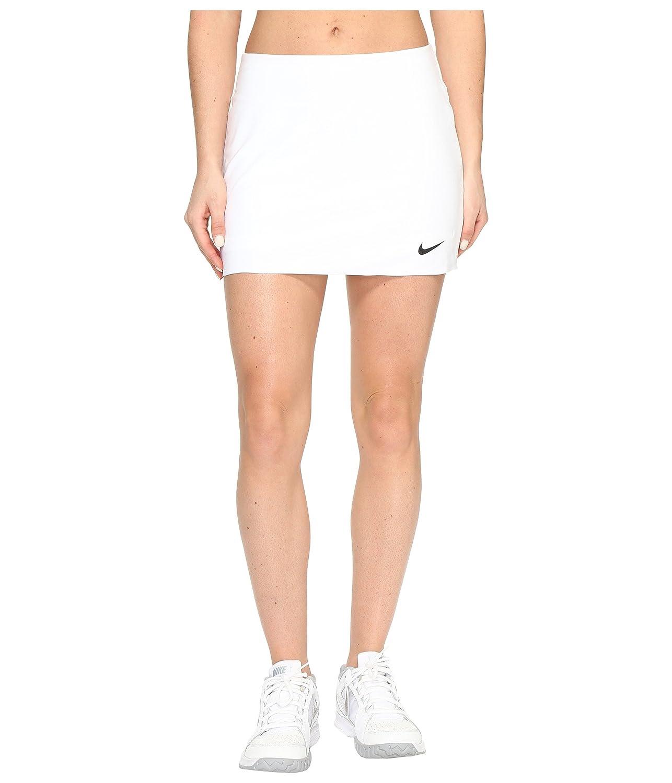[ナイキ] Nike レディース Court Power Spin Tennis Skirt スカート [並行輸入品] Small ホワイト/ブラック B01N9ZQMNP, ヨウカイチバシ d1e36278