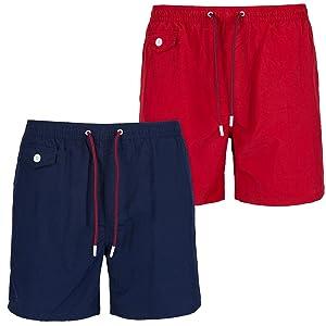 Brave Soul Men's Plain Swimming Shorts