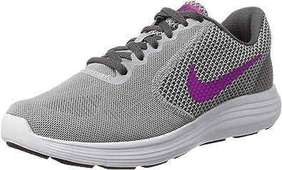 Nike 819303-009, Zapatillas de Trail Running para Mujer, Gris (Wolf Grey/Fire Pink-Dark Grey), 36.5 EU: Amazon.es: Zapatos y complementos
