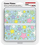 Nintendo 3DS Customized plate No.064 (colorful Star) Japan ver.