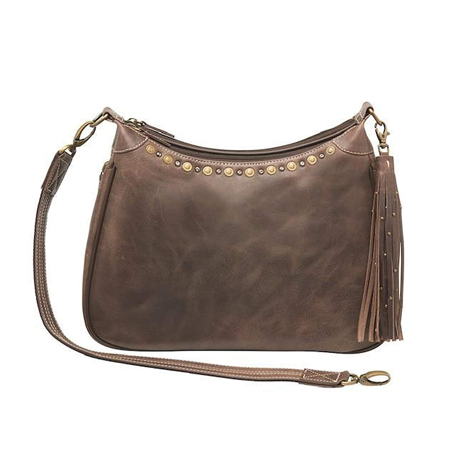b34bf9f36759 Amazon.com: Concealed Carry Purse - Distressed Buffalo Hobo by Gun ...