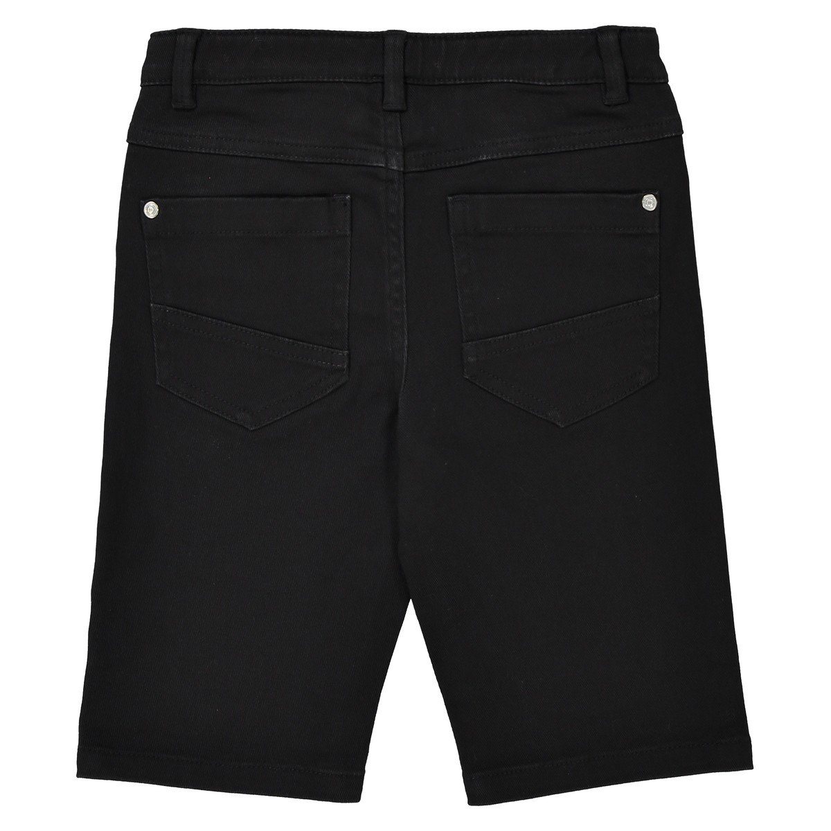 La Redoute Collections Big Boys 5-Pocket Bermuda Shorts 3-12 Years Black Size 4 Years 40 in.