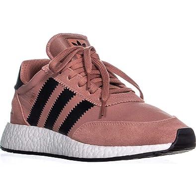 c7eeddd9f99 adidas Iniki Runner Sneakers , Raw Pink/Core Black, 7 US
