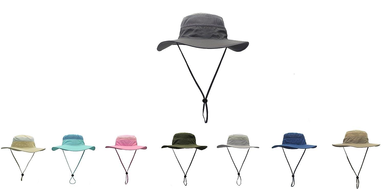 af165edbe5682 Sonnenhut Herren Damen UPF 50+ Outdoor UV Schutz Mesh Summer Hut ...