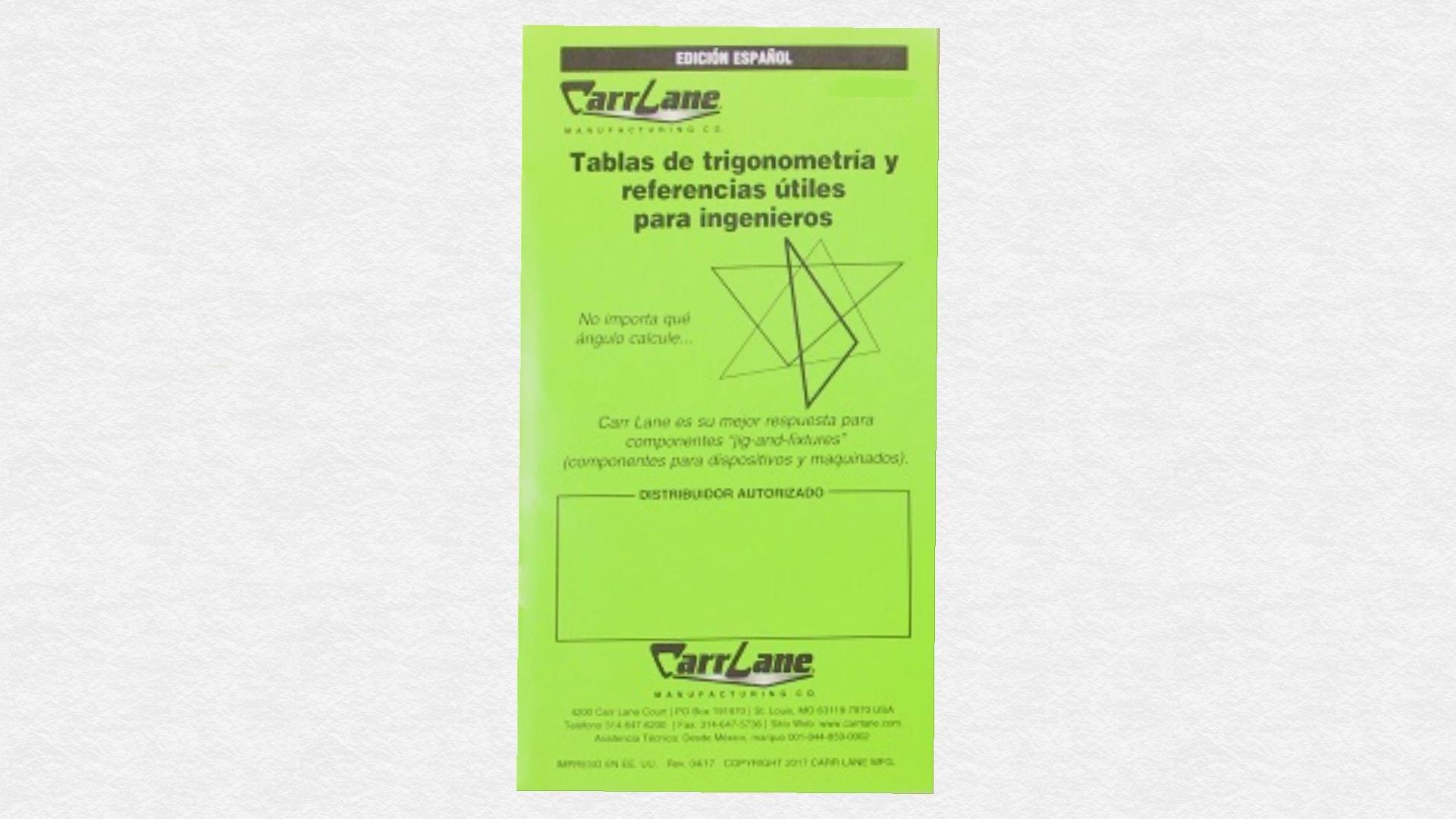 Tablas de trigonometría y referencias útiles para ingenieros Paperback – 2015