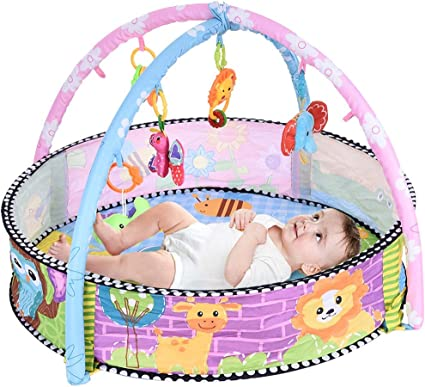 Babys Kick And Play Piano Activity Mat for Infants Tapiona Baby Play Gym Mat