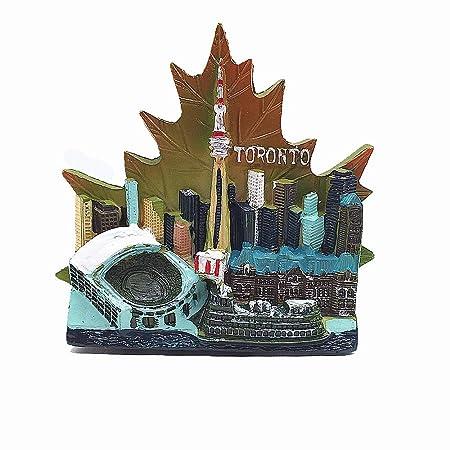 MUYU Magnet Imán para Nevera de Toronto Canada 3D, Regalo de ...