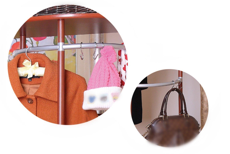 Demarkt S-Haken S-f/örmige Haken Kleiderb/ügel Haken S Formhaken K/üchenhaken 6.5CM Silberfarbe x 10