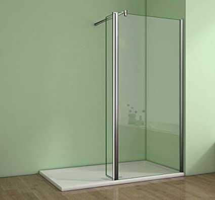 Walk In Shower Panels.1100x1950mm Walk In Shower Enclosure Wet Room Screen Panel Easyclean Glass With 300mm Flipper Panel