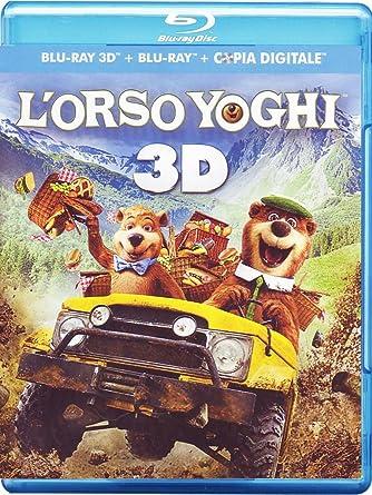 Lorso yoghi 3d 2d : amazon.it: anjelica huston eric brevig: film e tv