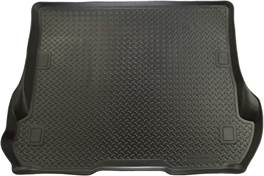 Black Husky Liners Custom Fit Molded Rear Cargo Liner for Select Jeep Compass//Patriot Models