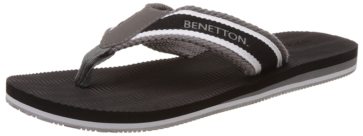 352e6b08782ff United Colors of Benetton Men s Flip-Flops and House Slippers  Buy Online  at Low Prices in India - Amazon.in