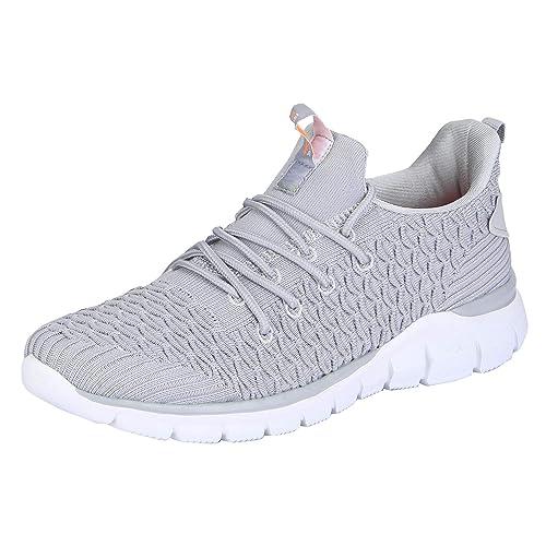 RSO0518 Grey Nordic Walking Shoes-8 UK