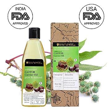 Amazon.com: Soulflower - Aceite de ricino para crecimiento ...