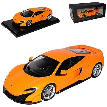 1:18 Kyosho McLaren 675LT 2015 orange