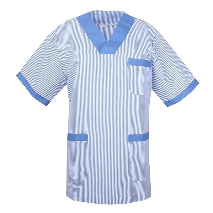MISEMIYA Camisetas Unisex Uniformes Laborares Estética ...