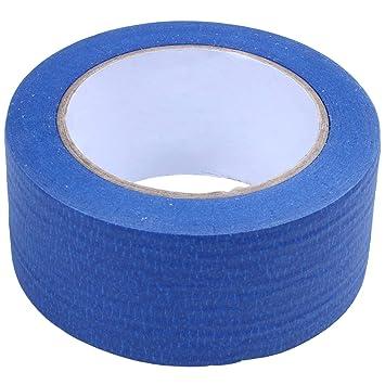 SODIAL (R) 50 M 3d impresora azul cinta 50 mm de ancho cama para ...
