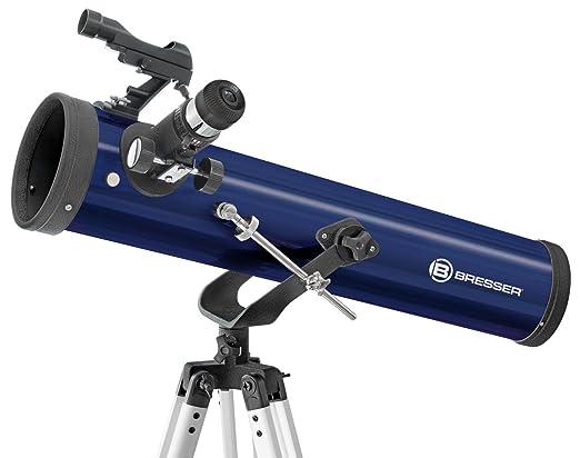 Bresser junior 8843201 spiegelteleskop 76 700: amazon.de: kamera