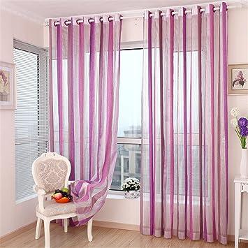 Tulle Vorhänge Moderne Fenster Dekoration Farbe Sheer Voile Vorhänge Für  Wohnzimmer Single Panel,W2.