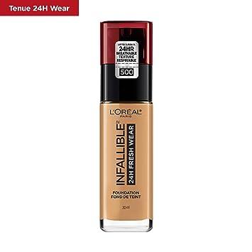 L'oreal Paris Infallible 24h Fresh Wear Liquid Face Foundation, Honey Bisque, 30 M L by Amazon